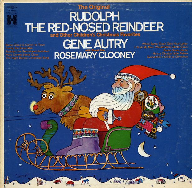 The Original Rudolph The Red-Nosed Reindeer by Gene Autry